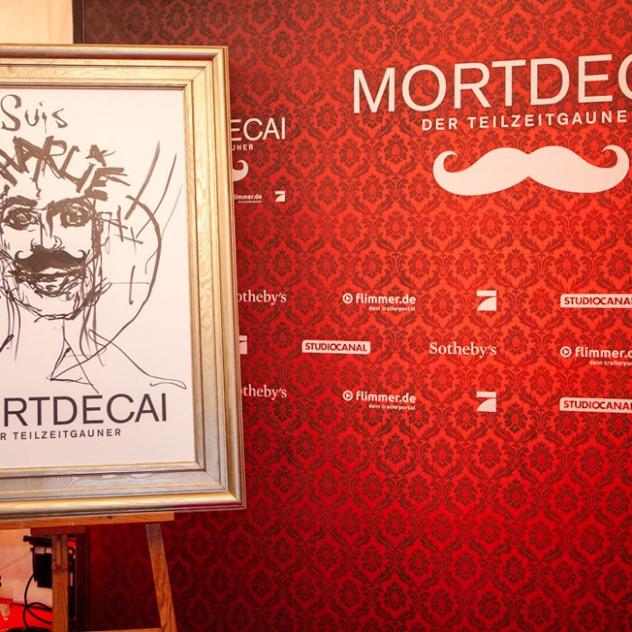 Benefizauktion und Film-Preview MORTDECAI
